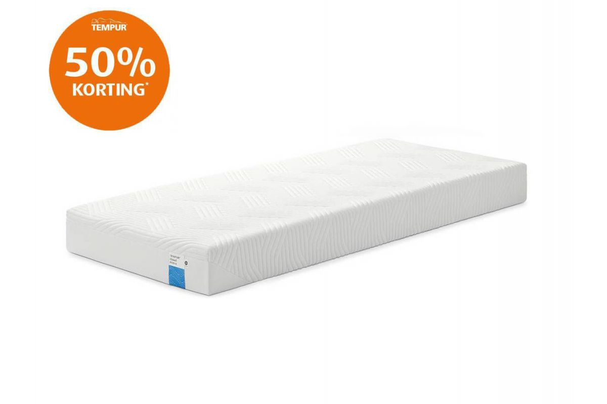 Tempur Cloud Prima Cooltouch Outlet Matras 19cm 80x200