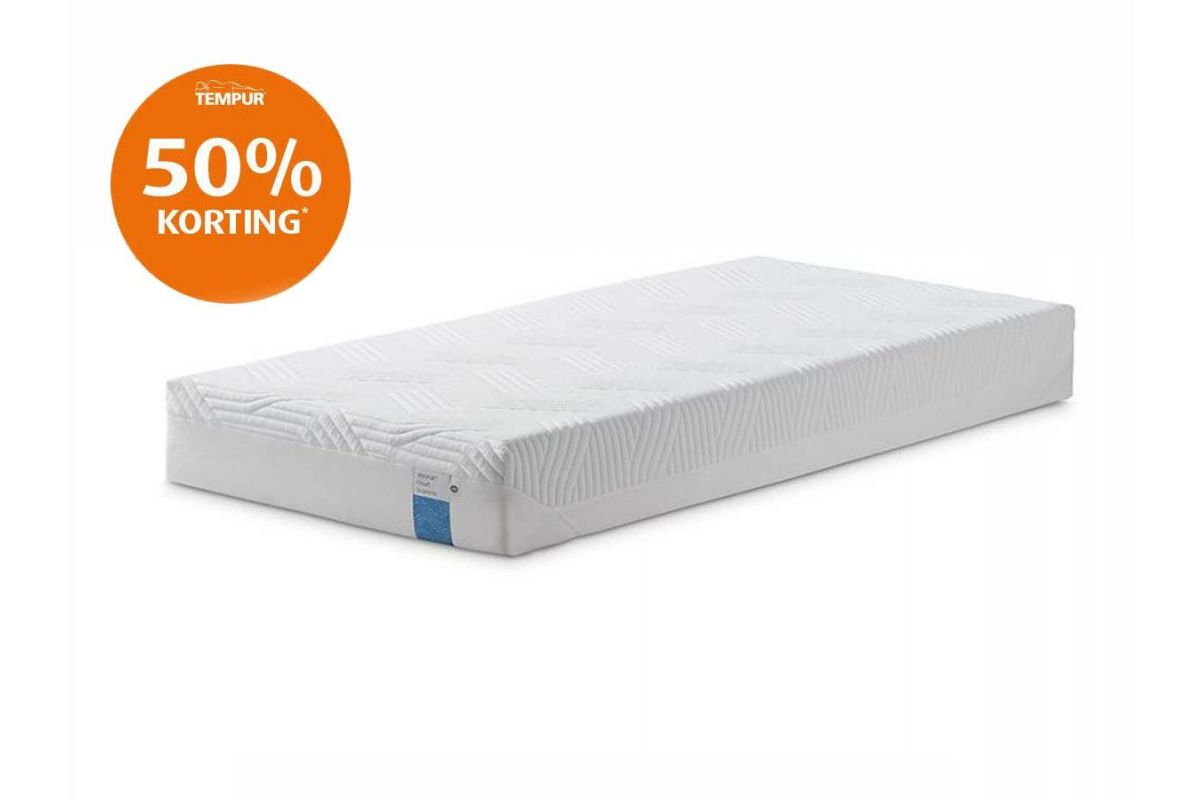 Tempur Cloud Supreme Cooltouch Outlet Matras 21cm 90x200
