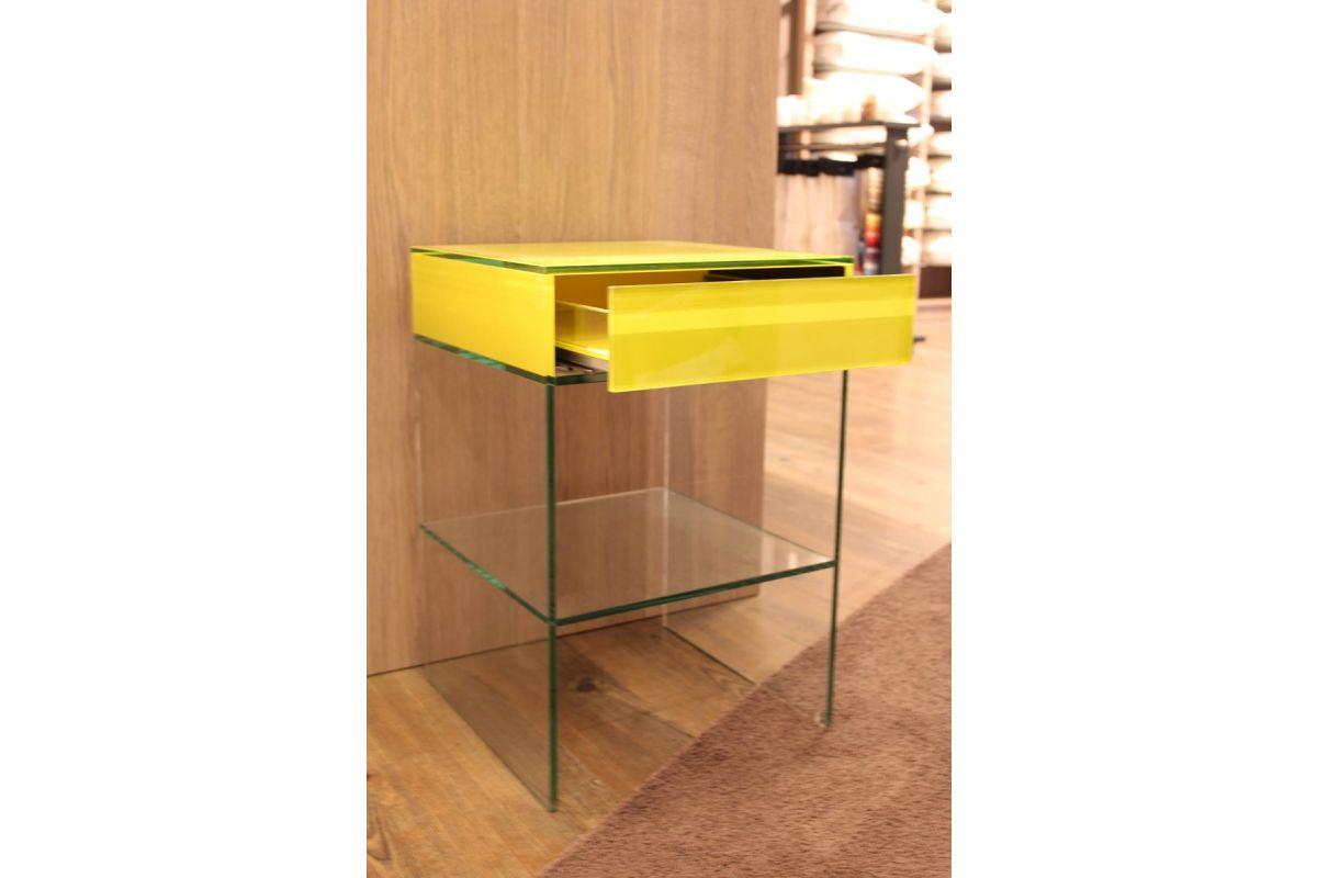 Helderr Nachtkastjes Glas Showroom Sale -60% (set. 2 st.)