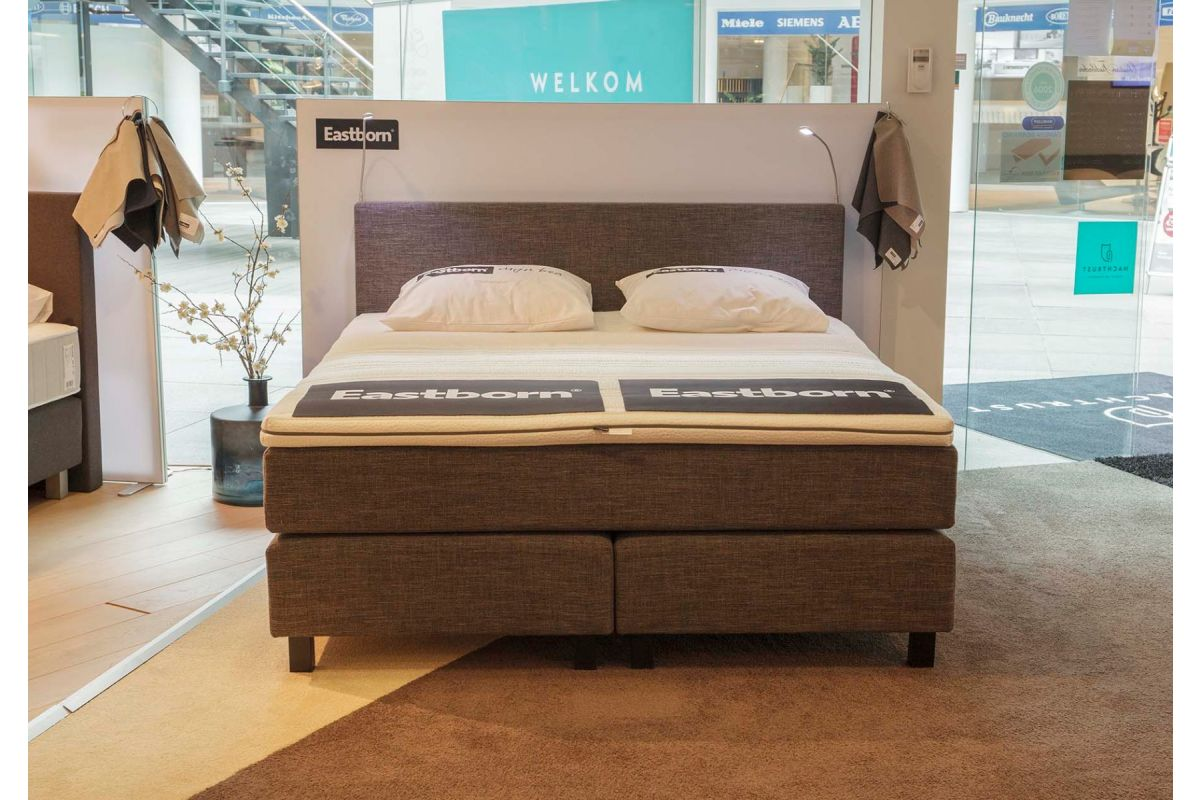 Eastborn Plain Boxspring 180x200 Showroom Sale -35%