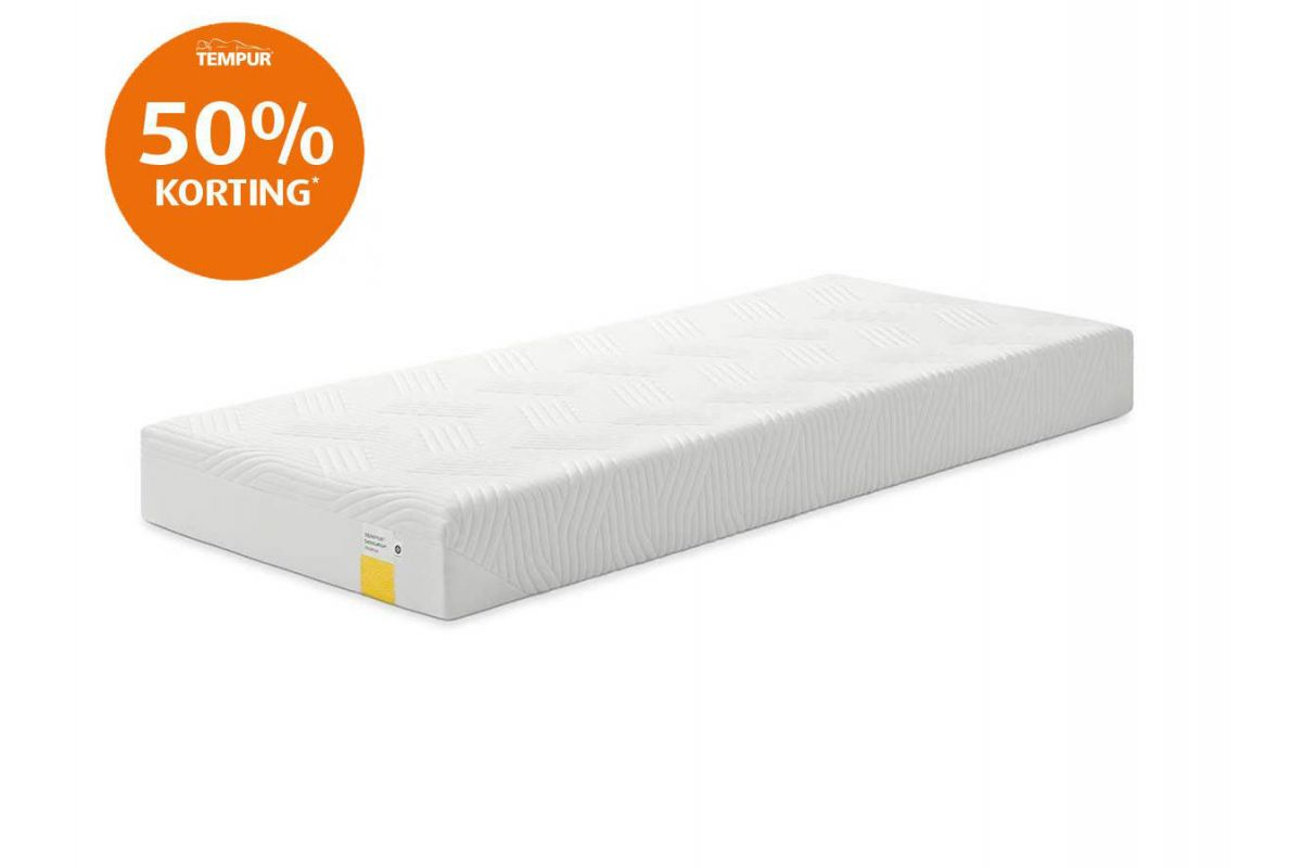 Tempur Sensation Prima Cooltouch Outlet Matras 19cm 90x200