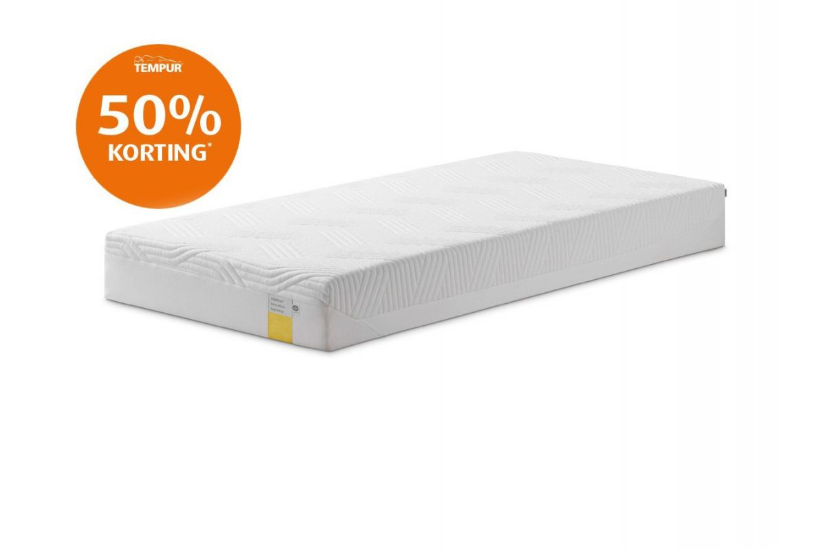 Tempur Sensation Supreme Cooltouch Outlet Matras 21cm 90x200