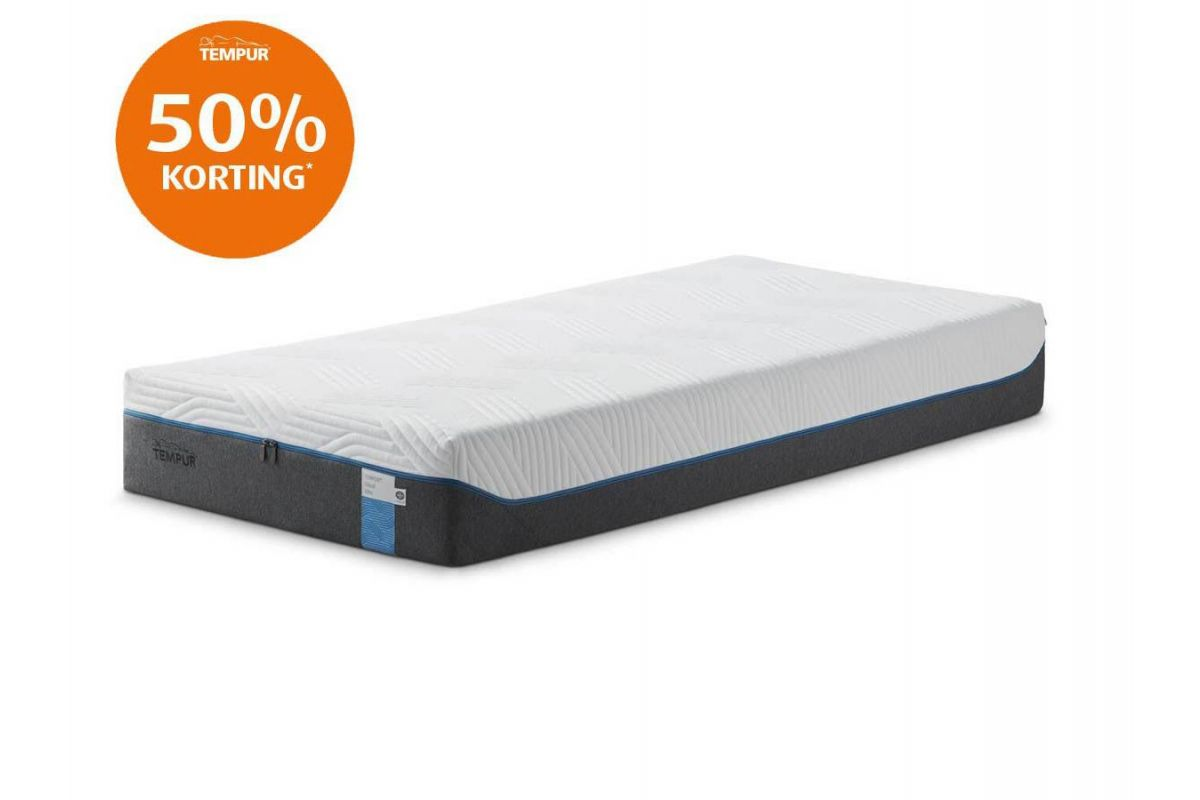 Tempur Cloud Elite Cooltouch Outlet Matras 25cm 160x200cm