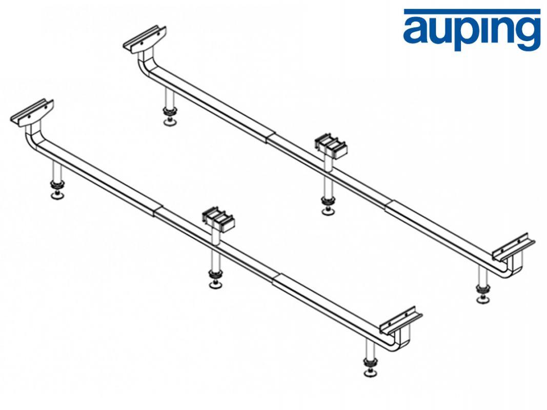 Auping set onderzetpoten 160 t/m 200 cm breed
