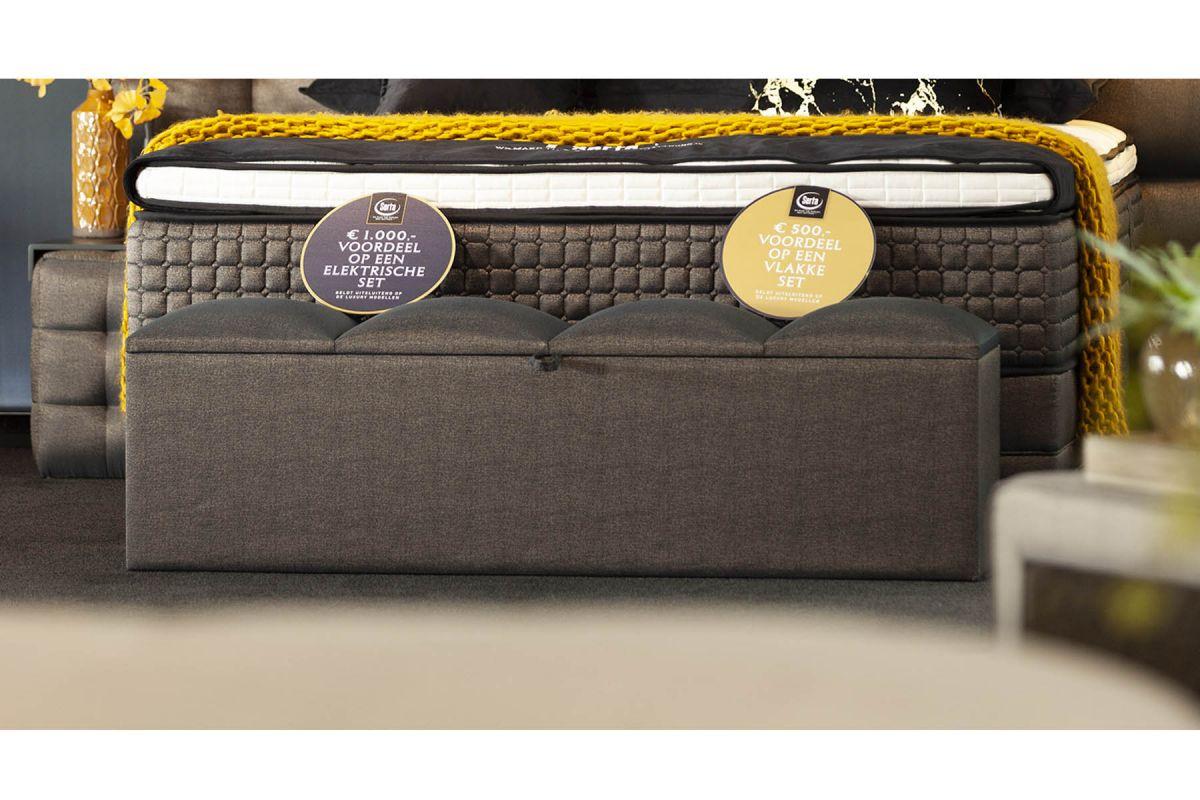 Serta Storage Bank Magnum Showroom Sale -45%