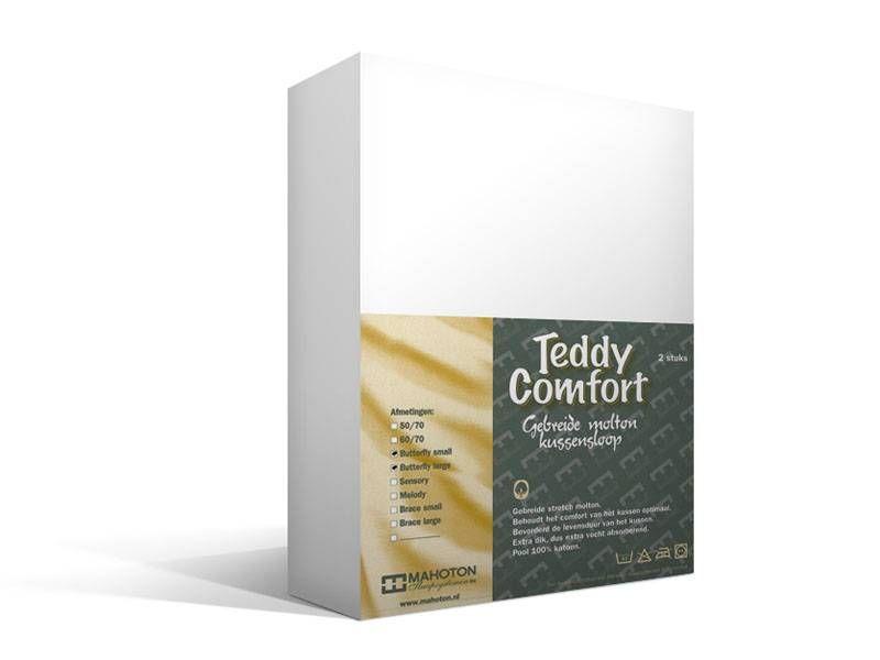 Teddy Comfort Molton Kussensloop