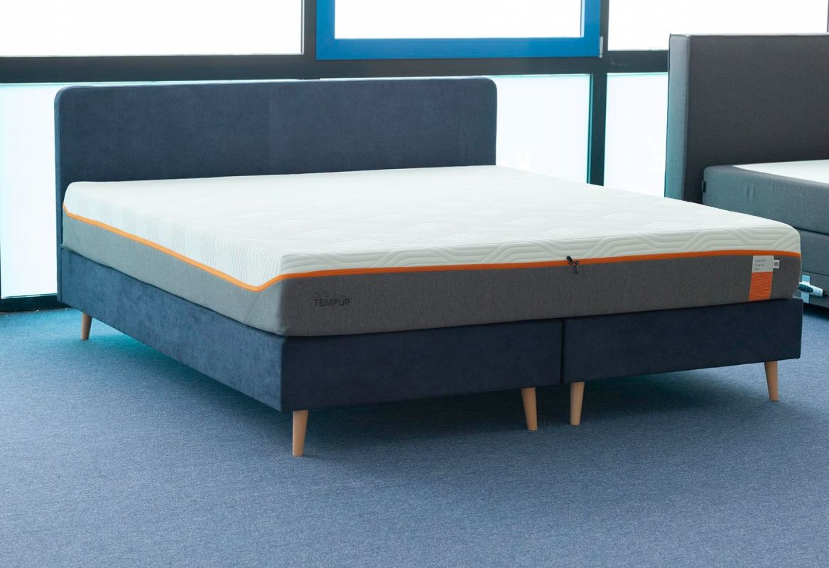 Tempur One Plain Boxspring 200x210 Showroom Sale -40%